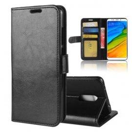 Funda Libro Xiaomi Redmi 5 Plus Soporte Negra