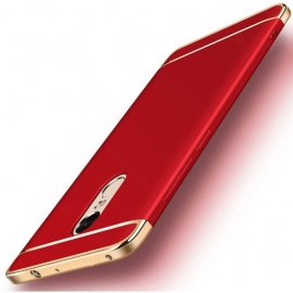 Funda Xiaomi Redmi 5 Plus Cromadas Roja
