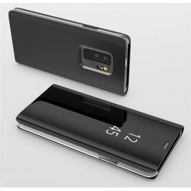 Funda Libro Ventana Translucida Samsung Galaxy S9 Plus Negra