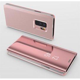 Funda Libro Ventana Translucida Samsung Galaxy S9 Plus Rosa