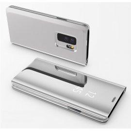 Funda Libro Ventana Translucida Samsung Galaxy S9 Plus Gris