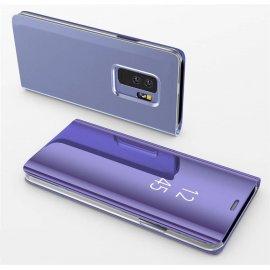 Funda Libro Ventana Translucida Samsung Galaxy S9 Plus Violeta