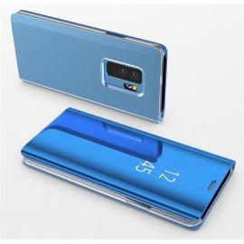 Funda Libro Ventana Translucida Samsung Galaxy S9 Plus Azul