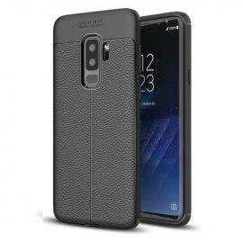Funda Samsung Galaxy S9 Plus Gel Cuero 3D Negra