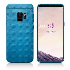 Funda Samsung Galaxy S9 Plus Silicone Tecra Azul