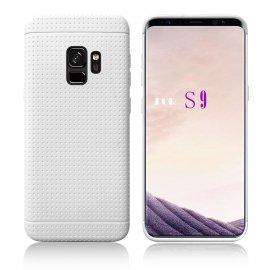 Funda Samsung Galaxy S9 Plus Silicone Tecra Blanca