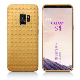 Funda Samsung Galaxy S9 Plus Silicone Tecra Dorada