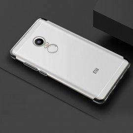 Funda Xiaomi Redmi 5 Plus Silicona Metalizada Negra