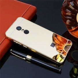 Bumper Xiaomi Redmi 5 Plus Aluminio Dual Dorado