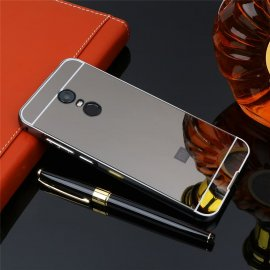Bumper Xiaomi Redmi 5 Plus Aluminio Dual Gris