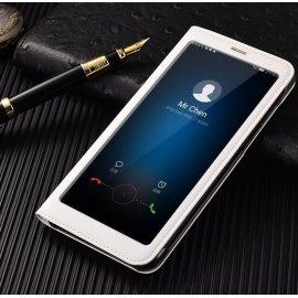 Funda Libro Huawei Mate 10 Lite con Tapa y Soporte Full Blanca