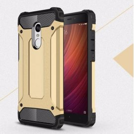 Funda Xiaomi Redmi 5 Plus Shock Resistante Dorada