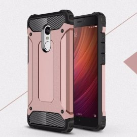 Funda Xiaomi Redmi 5 Plus Shock Resistante Rosa