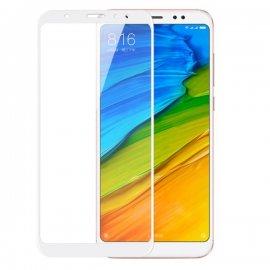 Protector Pantalla Cristal Blanco Templado Xiaomi Redmi Note 5