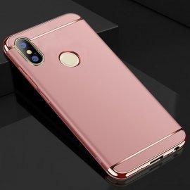 Funda Xiaomi Redmi Note 5 Cromadas Rosa.