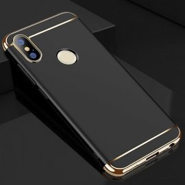 Funda Xiaomi Redmi Note 5 Cromadas Negra
