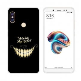 Funda Xiaomi Redmi Note 5 Gel Dibujo Smile