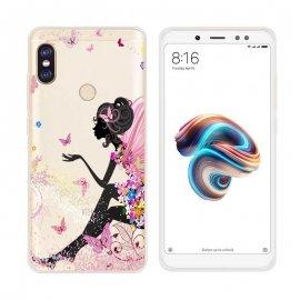 Funda Xiaomi Redmi Note 5 Gel Dibujo Ada