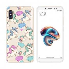 Funda Xiaomi Redmi Note 5 Gel Dibujo Unicornio