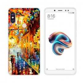Funda Xiaomi Redmi Note 5 Gel Dibujo Pintura