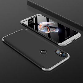 Funda 360 Xiaomi Redmi Note 5 Pro Gris Negra