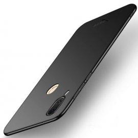 Funda Gel Huawei P20 Lite Flexible y lavable Mate Negra