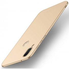 Funda Gel Huawei P20 Lite Flexible y lavable Mate Dorada