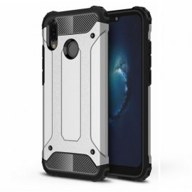 Funda Huawei P20 Lite Shock Resistante Plateada