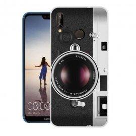 Funda Huawei P20 Lite Gel Dibujo Camara