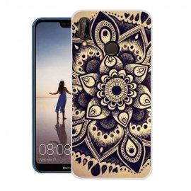 Funda Huawei P20 Lite Gel Dibujo Flor