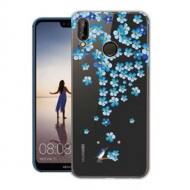 Funda Huawei P20 Lite Gel Dibujo Blossom