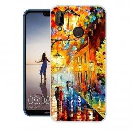 Funda Huawei P20 Lite Gel Dibujo Pintura