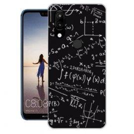 Funda Huawei P20 Lite Gel Dibujo Formulas