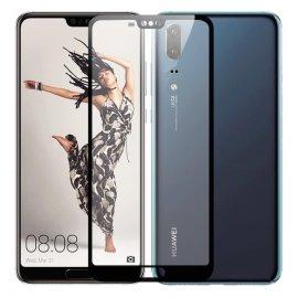 Protector Pantalla Cristal Templado Premium Huawei P20 Negro