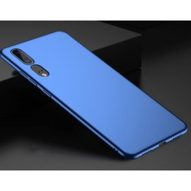 Funda Gel Huawei P20 Flexible y lavable Mate Azul