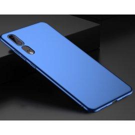 Funda Gel Huawei P20 Flexible y lavable Mate Azul