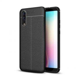 Funda Huawei P20 Tpu Cuero 3D Negra