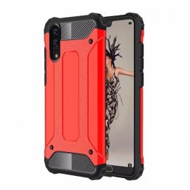 Funda Huawei P20 Shock Resistante Roja