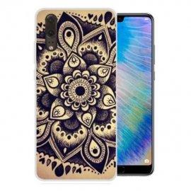 Funda Huawei P20 Gel Dibujo Flor