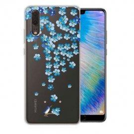 Funda Huawei P20 Gel Dibujo Blossom