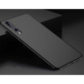 Funda Gel Huawei P20 Pro Flexible y lavable Mate Negra