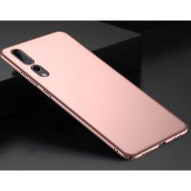 Funda Gel Huawei P20 Pro Flexible y lavable Mate Rosa