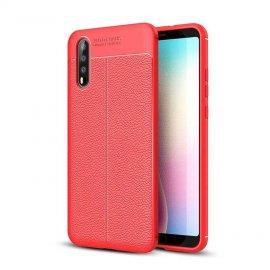 Funda Huawei P20 Pro Tpu Cuero 3D Roja