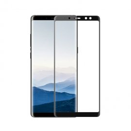Protector Pantalla Cristal Templado Premium Samsung Galaxy A8 Plus 2018 Negro