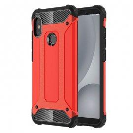 Funda Xiaomi Redmi Note 5 Pro Shock Resistante Roja