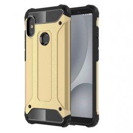 Funda Xiaomi Redmi Note 5 Pro Shock Resistante Dorada