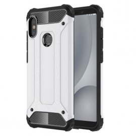 Funda Xiaomi Redmi Note 5 Pro Shock Resistante Plateada
