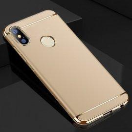 Funda Xiaomi Redmi Note 5 Pro Cromadas Dorada