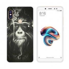 Funda Xiaomi Redmi Note 5 Pro Gel Dibujo mono