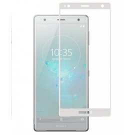Protector Pantalla Cristal Templado Premium Sony Xperia XZ2 Blanco